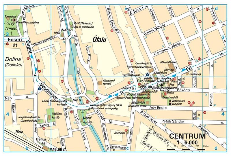 maglód térkép Térkép   Utcanévjegyzék maglód térkép